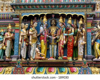 Indian temple figures