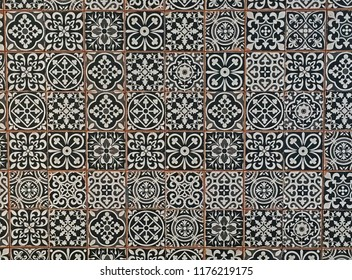 Indian Tiled Wall