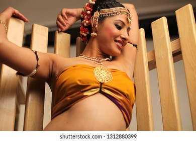 Indian Traditional Bengali Woman