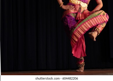 Indian Traditional bharatanatyam dance