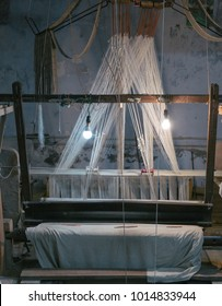 Indian Traditional Handloom Weaving Machine
