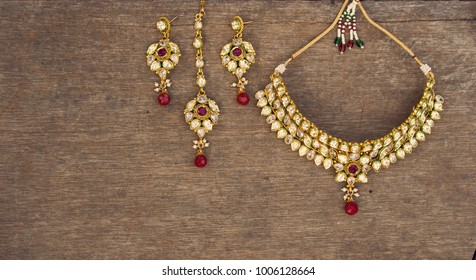 Indian traditional jewellery