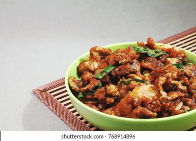 Indian Traditional mushroom recipe