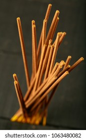 Indian traditional sandalwood aroma incense sticks.