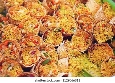 Indian Traditional Spicy Chaat Food