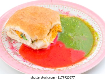 Indian Traditional Street Food Dabeli