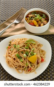 Indian Veg Chow Mein also known as Hakka Noodles