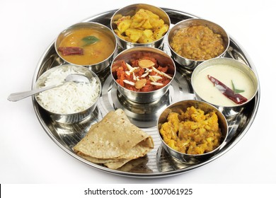 indian veg food thali