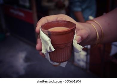 Indian Way of having Tea
