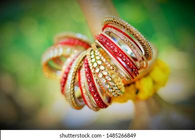 indian wedding chura bride fashion