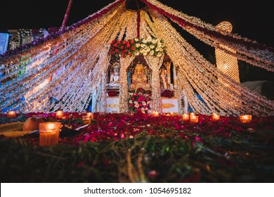 Indian wedding images stock photos vectors shutterstock indian wedding decoration junglespirit
