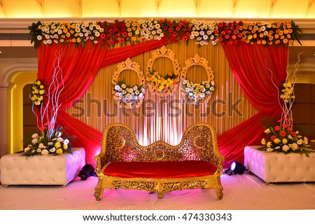 Indian Wedding Decoration Stock Photo Edit Now 474330343