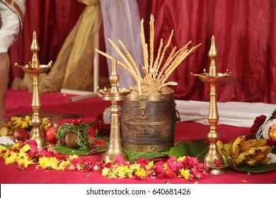 Pooja Items Images, Stock Photos & Vectors | Shutterstock