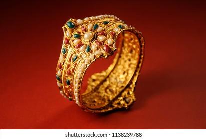 Indian Wedding gold bracelets