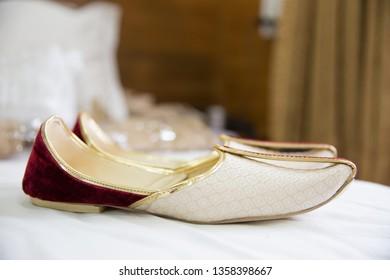 Indian wedding grooms juttis