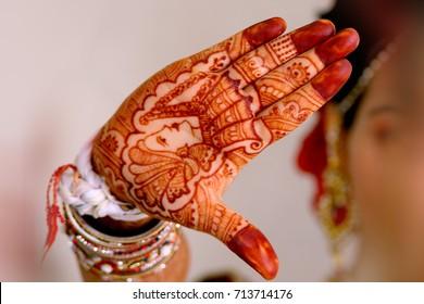 Indian Wedding jewellery mehandi