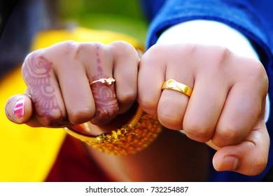 Indian wedding jewelry, mehandi ring
