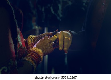 Indian Wedding- Ring Ceremony