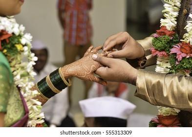 Indian Wedding- Ring Ceremony