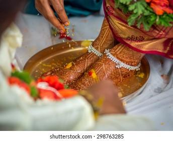 An Indian Wedding Ritual