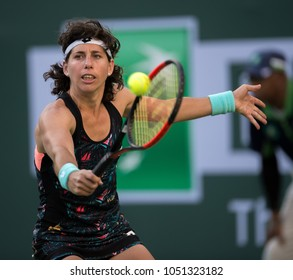 INDIAN WELLS, CA - MAR 05-18: at the BNP PARIBAS OPEN Tennis Tournament in Indian Wells, CA on March 15, 2018