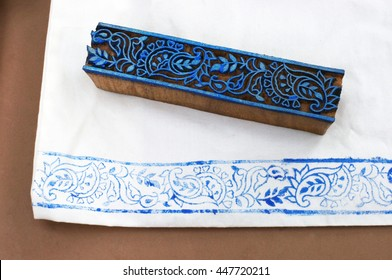 Indian wood printing,Indian fabric printing,wood block