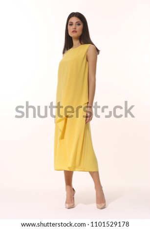 Shutterstock Summer Dresses with Long Sleeves