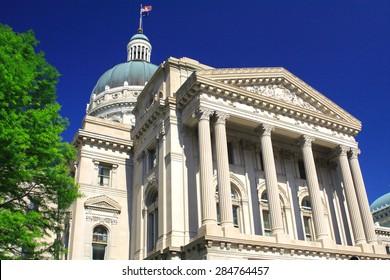 Indiana State House, Indianapolis, Indiana, USA