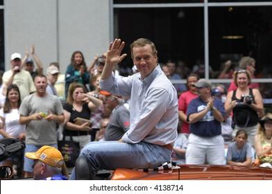Indianapolis 500 Parade, 2007: Peyton Manning EDITORIAL ONLY