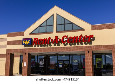 Indianapolis - Circa August 2016: Rent-A-Center Consumer Retail Location. RAC Provides Rent to Own Furniture and Electronics I