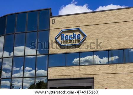 Indianapolis Circa August 2016 Roche Diagnostics Stock Photo