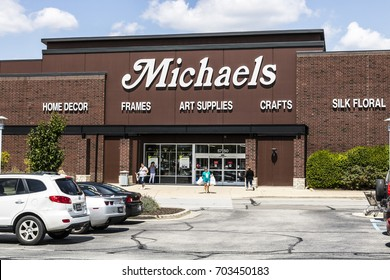 Indianapolis - Circa August 2017: Exterior of Michael's Craft Store. Michael's is an Arts and Crafts Retail Chain III
