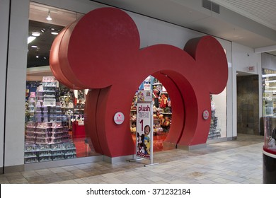 Indianapolis - Circa February 2016: Disney Store Retail Mall Location. Disney Store is the Official Site for Disney Shopping III