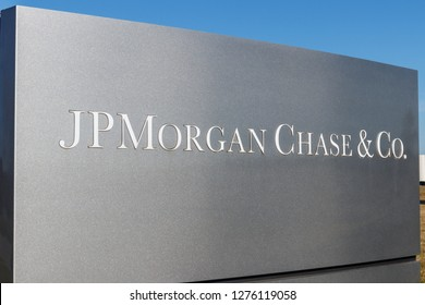 Indianapolis - Circa January 2019: JPMorgan Chase Operations Center. JPMorgan Chase and Co. is the largest bank in the United States I