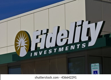 Indianapolis Circa June 2016 Fidelity Investments Stock