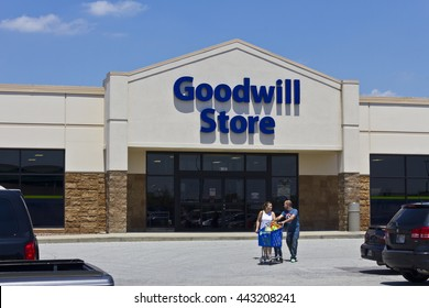 Indianapolis - Circa June 2016: A Goodwill Store. In 2015, Goodwill helped more than 26.4 million people train for careers II
