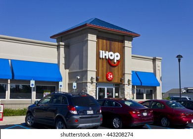 Indianapolis - Circa June 2016: International House of Pancakes. IHOP is a Restaurant Chain Offering a Variety of Breakfast and Dinner Meals II