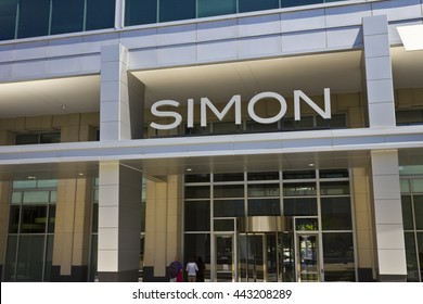 Indianapolis - Circa June 2016: Simon Property Group World Headquarters. SPG is a Commercial Real Estate Investment Trust (REIT) V
