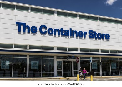 Indianapolis - Circa June 2017: The Container Store Retail Location. The Container Store offers storage and organization products I