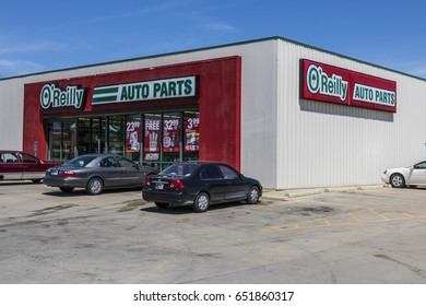 Indianapolis - Circa June 2017: O'Reilly Auto Parts Store. O'Reilly is a Retailer and Distributor of Automotive Parts IV
