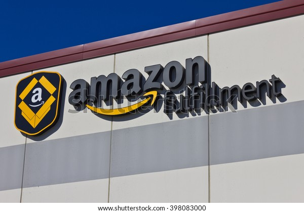 Indianapolis - Circa March 2016: Amazon.com Fulfillment Center. Amazon is the Largest Internet-Based Retailer in the United States I