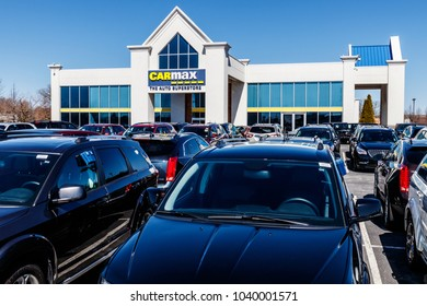 Indianapolis - Circa March 2018: CarMax Auto Dealership. CarMax is the Largest Used-Car Retailer in the US II