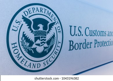 Indianapolis - Circa March 2018: Customs and Border Protection Revenue Division. CBP is a federal law enforcement agency of the U.S. Department of Homeland Security II