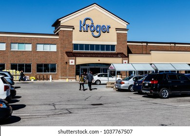 Indianapolis - Circa March 2018: Kroger Supermarket. The Kroger Co. is One of the World's Largest Grocery Retailers III