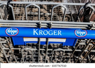 Indianapolis - Circa March 2018: Kroger Supermarket. The Kroger Co. is One of the World's Largest Grocery Retailers II