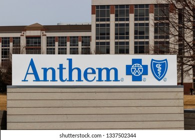 Indianapolis: Circa March 2019: Anthem World Headquarters. Anthem is a Trusted Health Insurance Plan Provider I