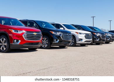 Indianapolis - Circa March 2019: Chevrolet Automobile Dealership. Chevy is a Division of General Motors II