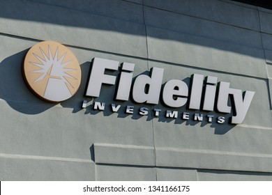 Indianapolis Circa June 2016 Fidelity Investments Stock Photo (Edit