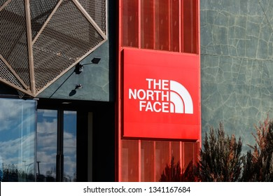 Indianapolis - Circa March 2019: The North Face retail mall location. The North Face is owned by VF Corporation II