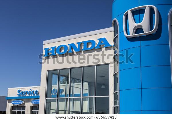 Honda Dealership Indianapolis >> Indianapolis Circa May 2017 Honda Motor Stock Photo Edit